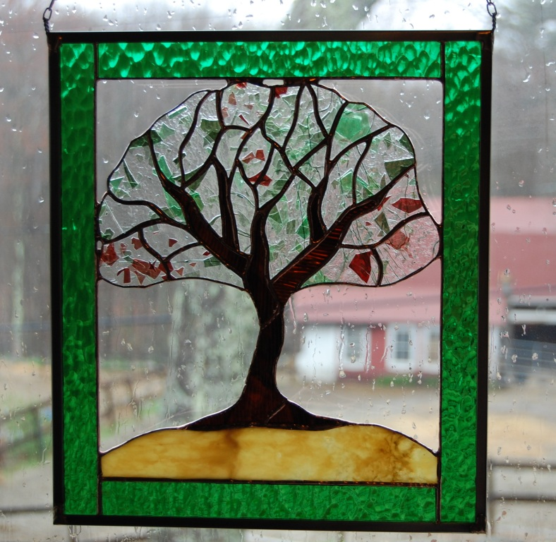 Stained Glass Panel Patterns Glass Decorating Ideas